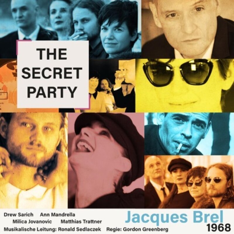 The Secret Party Webseite