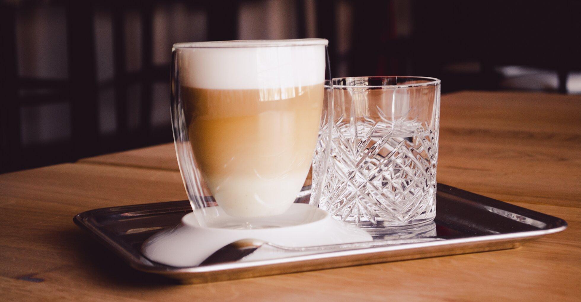 Caffe Latte Glas